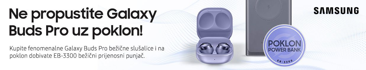 Wireless Powerbank na poklon uz Galaxy Buds Pro