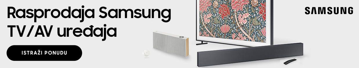Rasprodaja Samsung TV/AV uređaja!