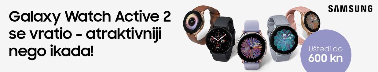 Uštedi do 35% na Galaxy Watch Active2 satovima!