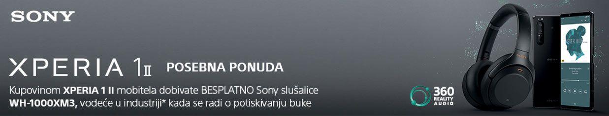 Kupi novu Sony Xperia 1 M2 i zgrabi Sony bežične slušalice i prijenosni punjač!