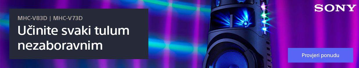 Nova linija Sony audio sustava visoke snage za vrhunsku zabavu