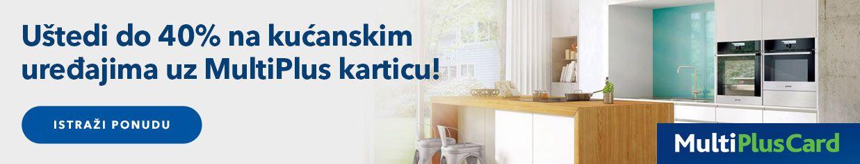 Uštedi do 40% na kućanskim uređajima uz MultiPlus karticu!
