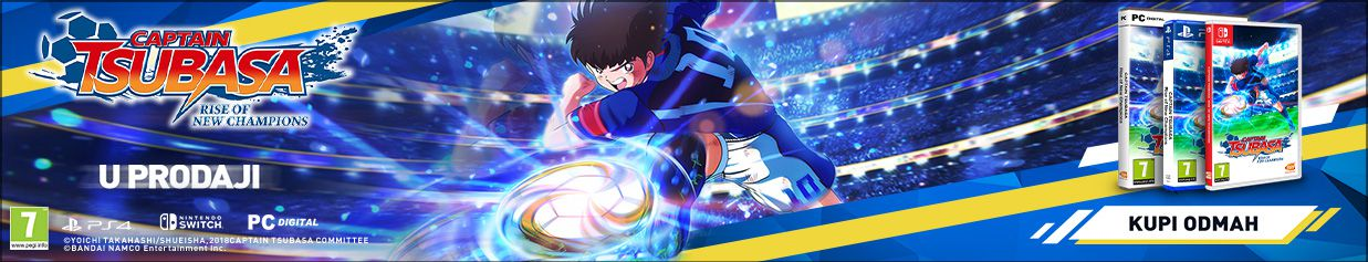 Captain Tsubasa: Rise of New Champions - U prodaji