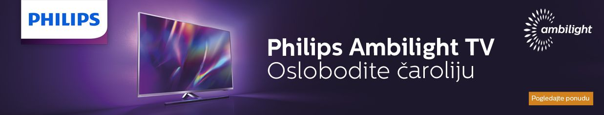 Oslobodite čaroliju uz Philips Ambilight TV
