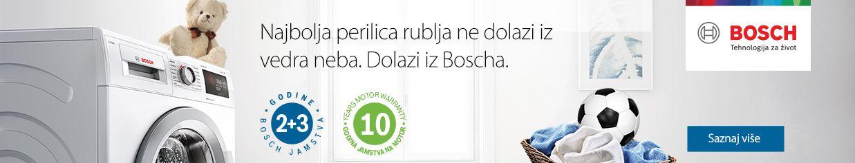 5 godina sigurnosti uz Bosch perilice i perilice-sušilice rublja!