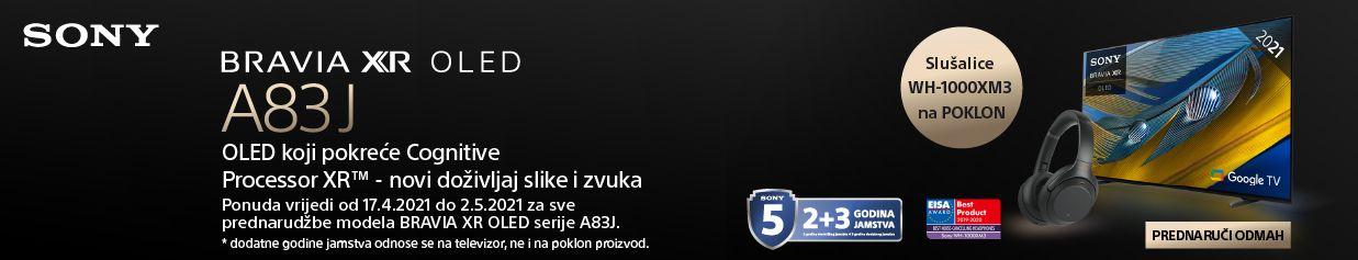 Stigao je novi Sony OLED Bravia A83J TV