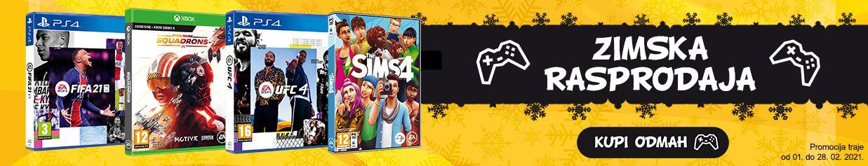 Electronic Arts - Zimska Rasprodaja!