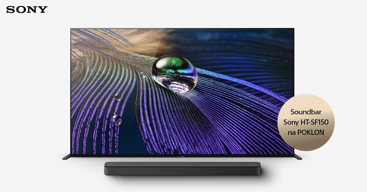 Soundbar na poklon uz izdvojene Sony televizore!