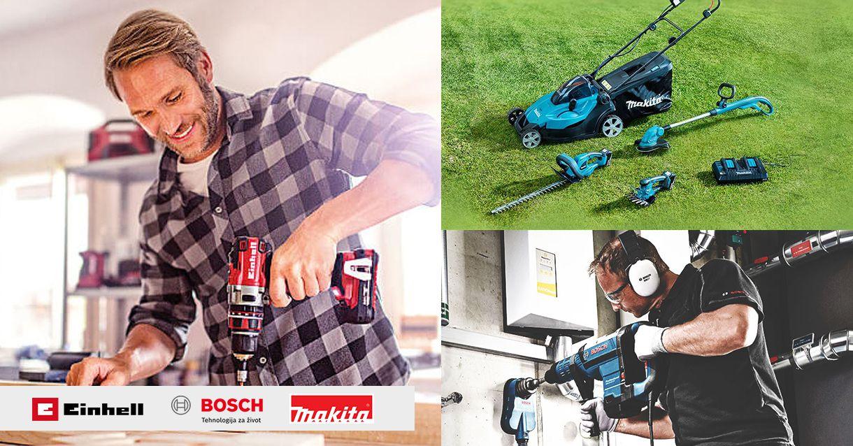 Novo u ponudi - akumulatorski, električni i vrtni alati
