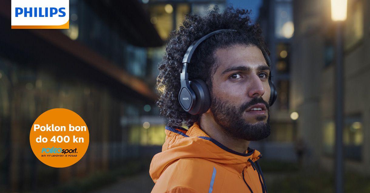 Opremite se za sport s Philips slušalicama!
