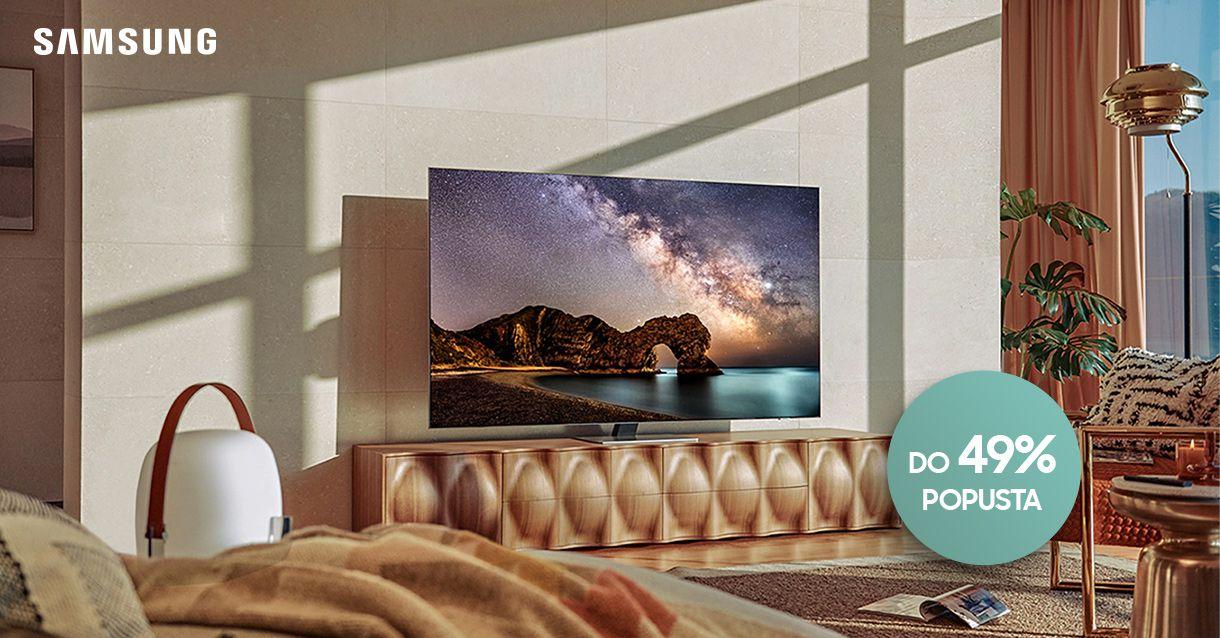 Uštedi do 49% na vrhunskim Samsung televizorima!