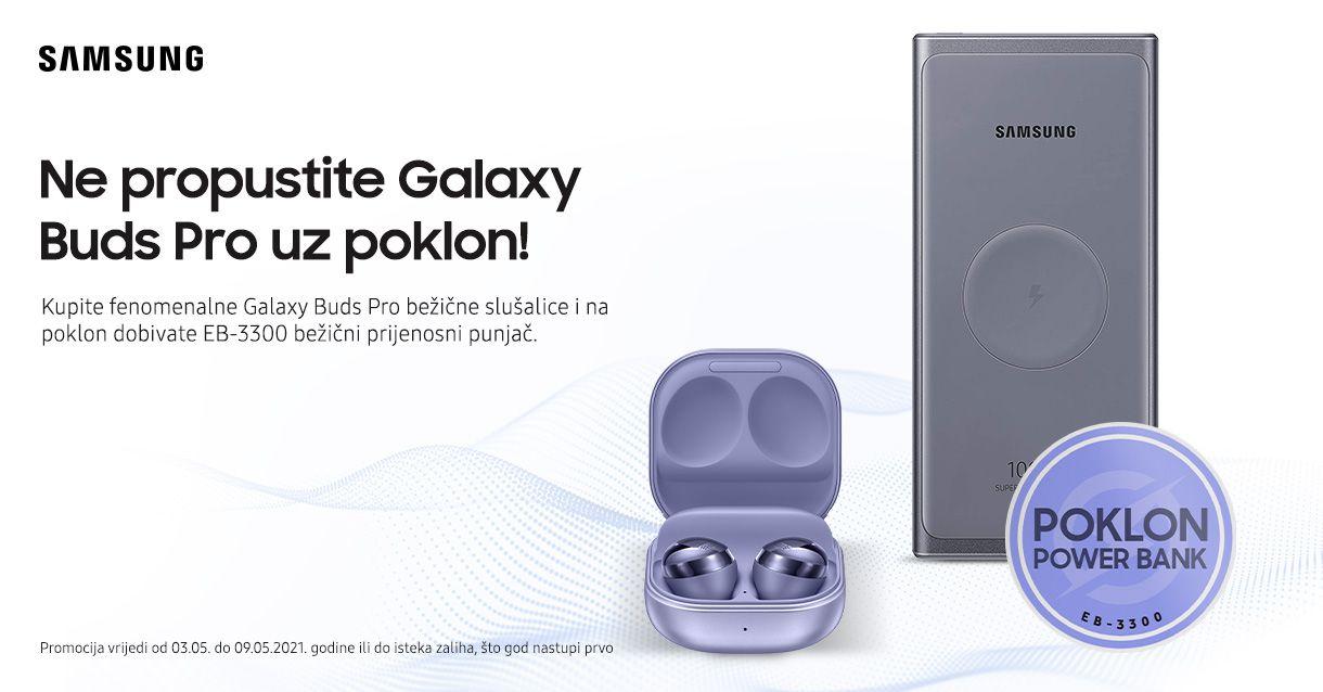 Wireless Powerbank na poklon uz Galaxy Buds Pro