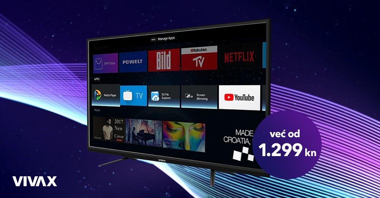 Vivax televizori na akciji!