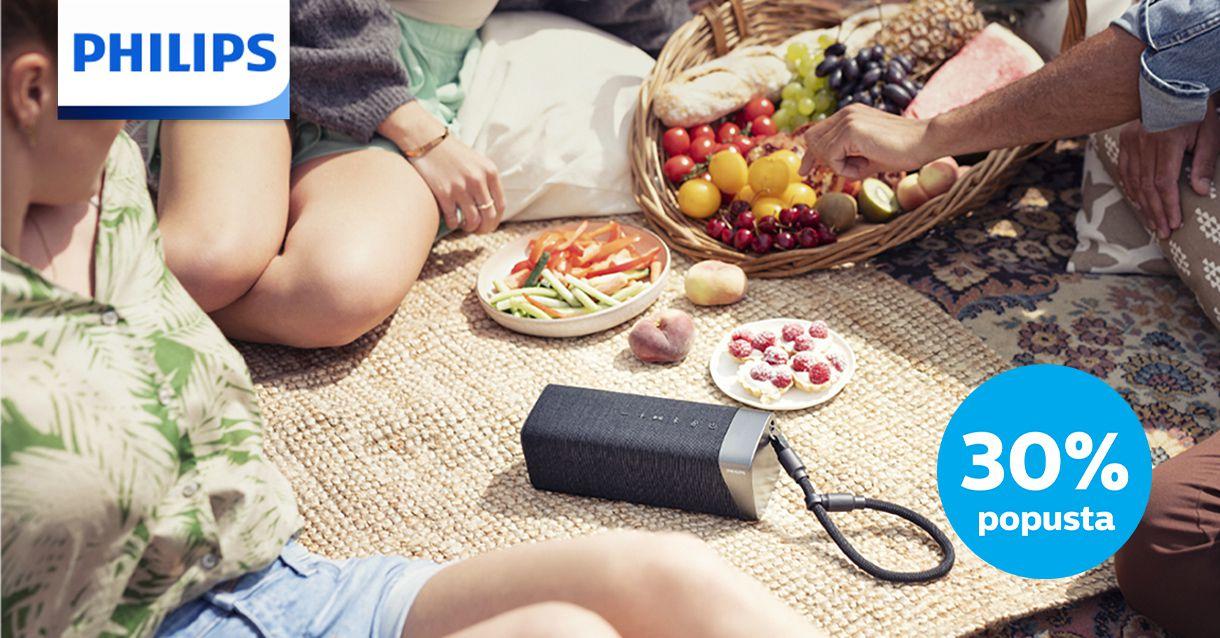 Uživajte u ljetu s Philips audio uređajima