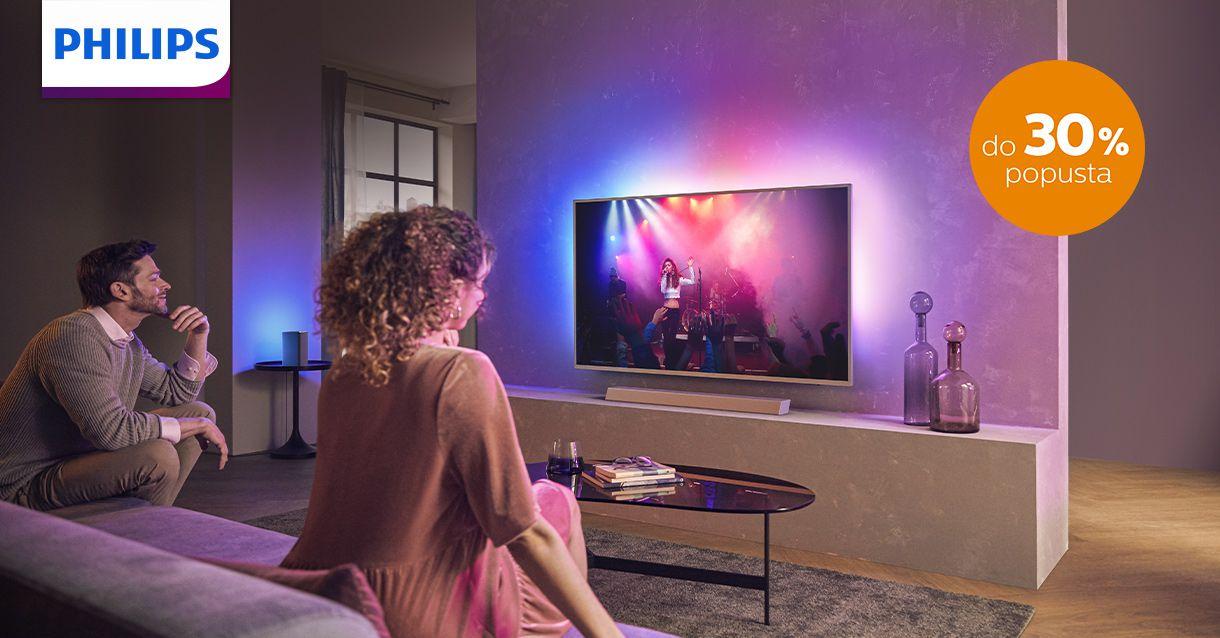 Savršena slika i zvuk uz Philips TV i AV uređaje
