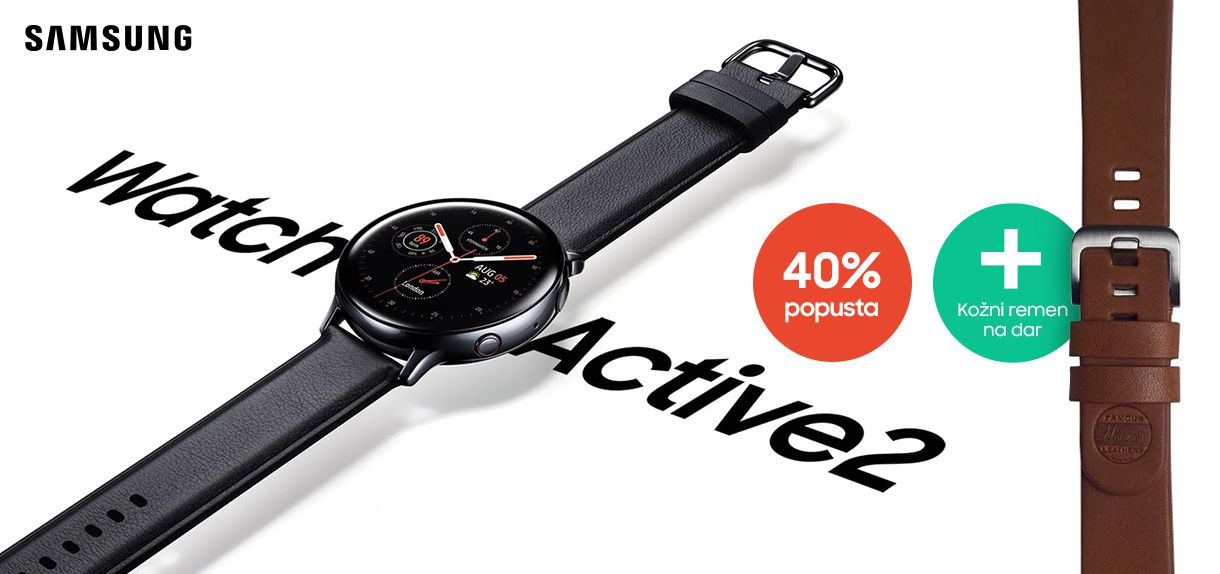 Uštedi do 40% na Galaxy Watch Active2 satovima!