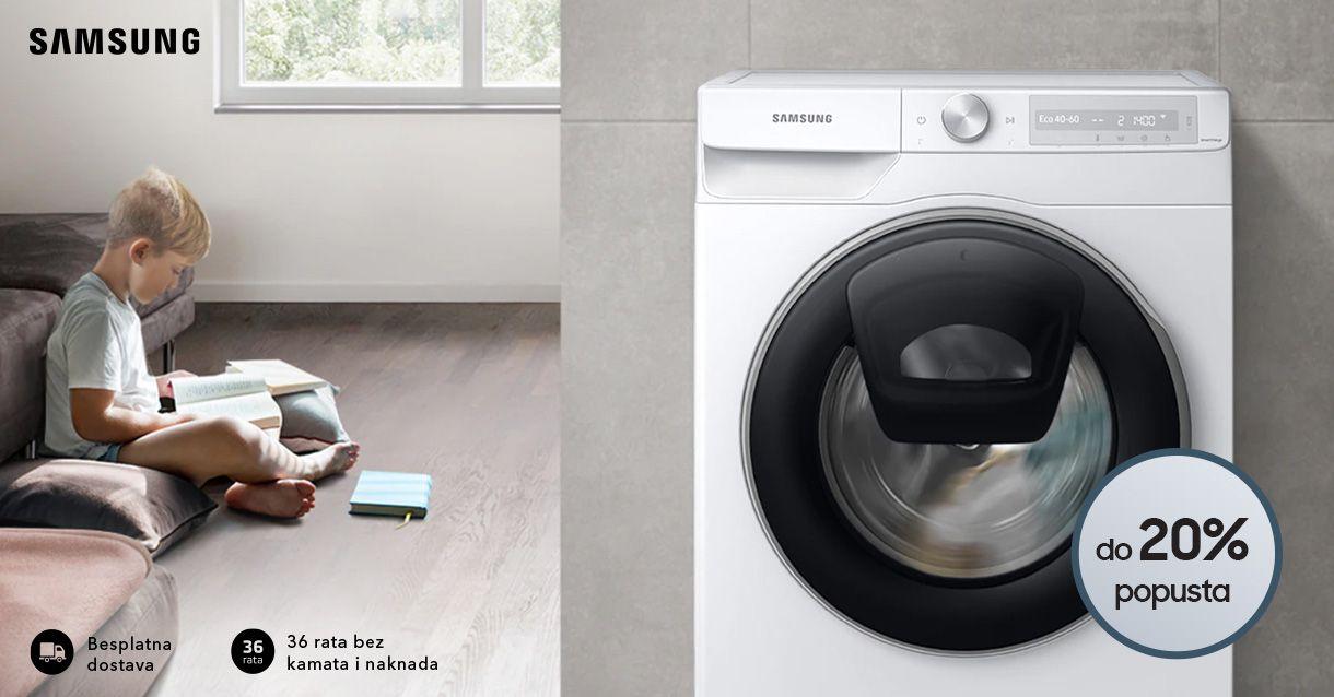 Učinkovito pranje.  Vrhunska čistoća.