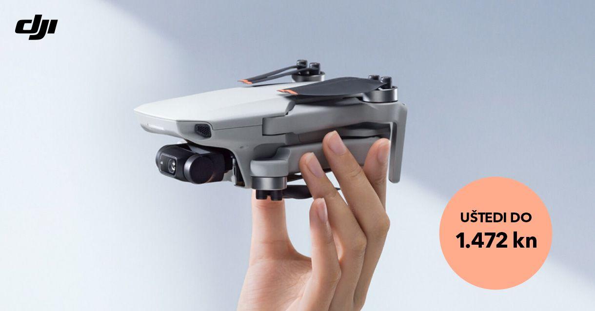 DJI Mavic Mini i Mini 2 dronovi na akciji