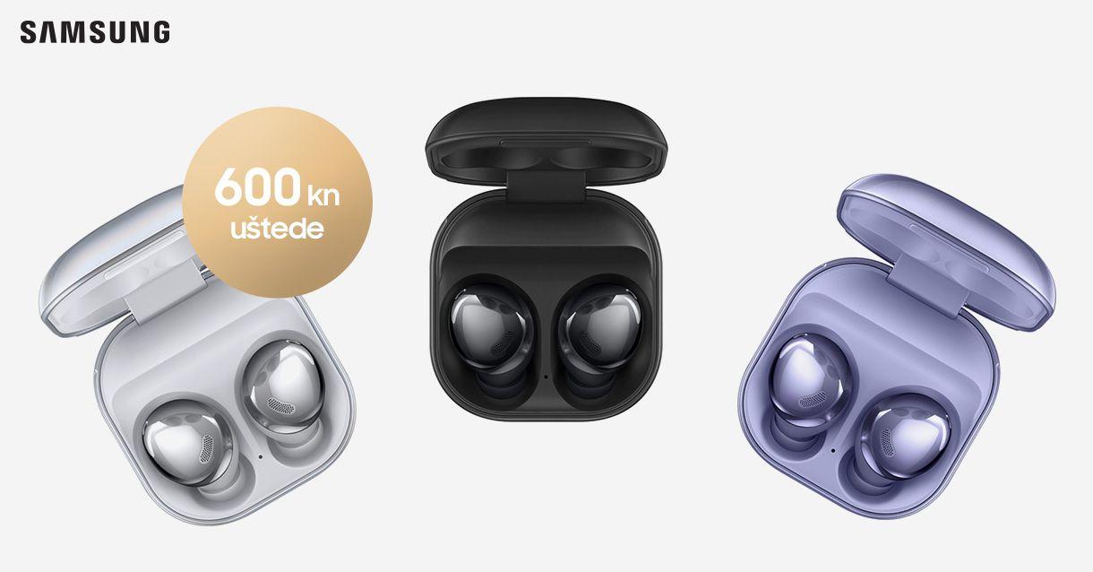 Samo do 30. rujna Galaxy Buds Pro 600 kn jeftinije