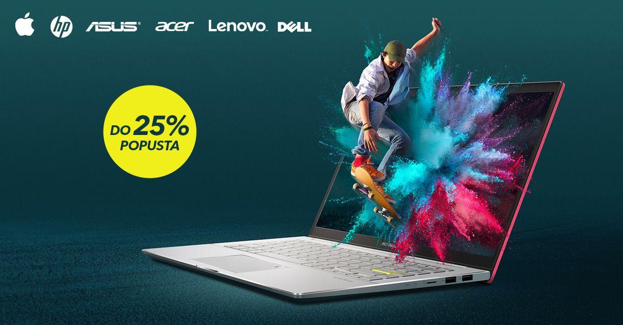 Najbolja ponuda laptopa na tržištu je aktivirana
