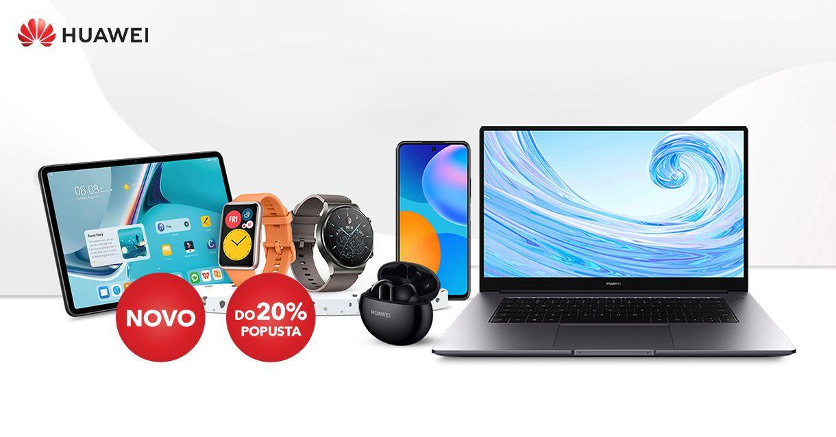 Huawei uređaji od sada u Sancta Domenici