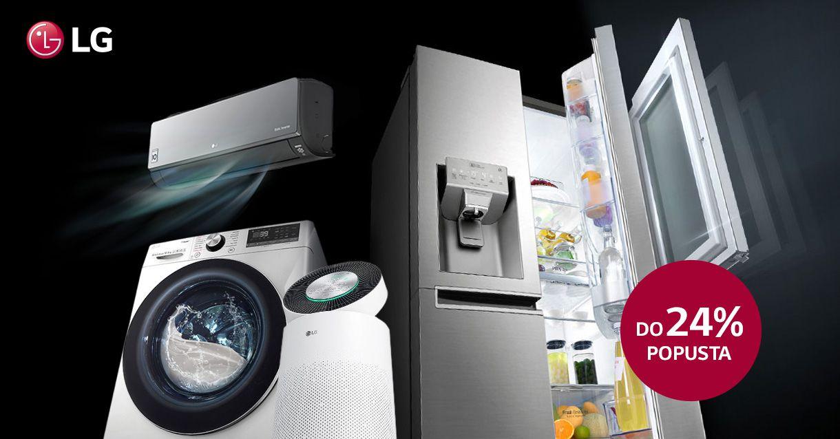 Opremi svoj dom vrhunskim LG uređajima