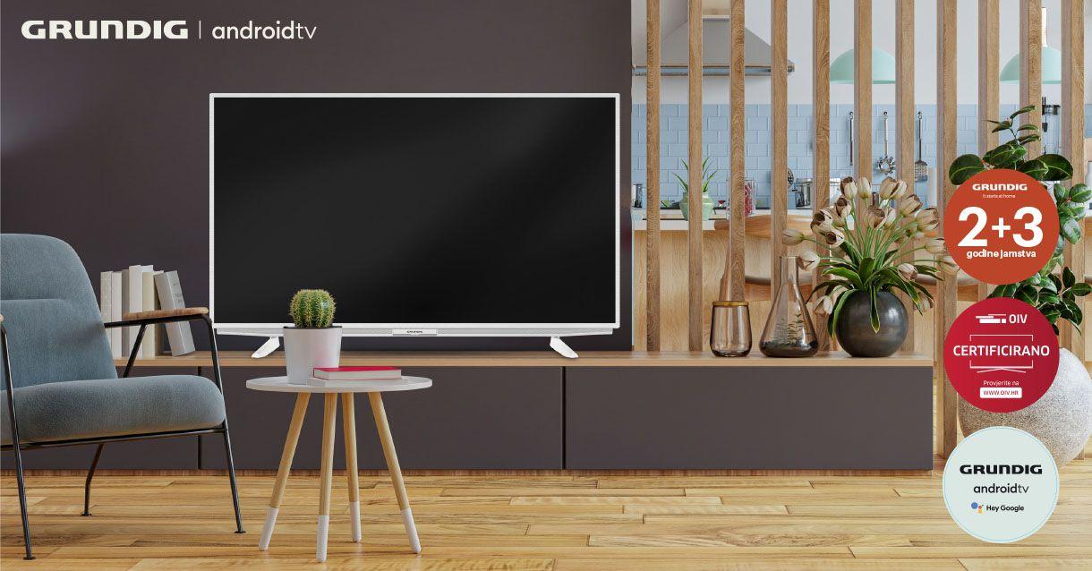 Grundig android televizori uz 5 godina jamstva!