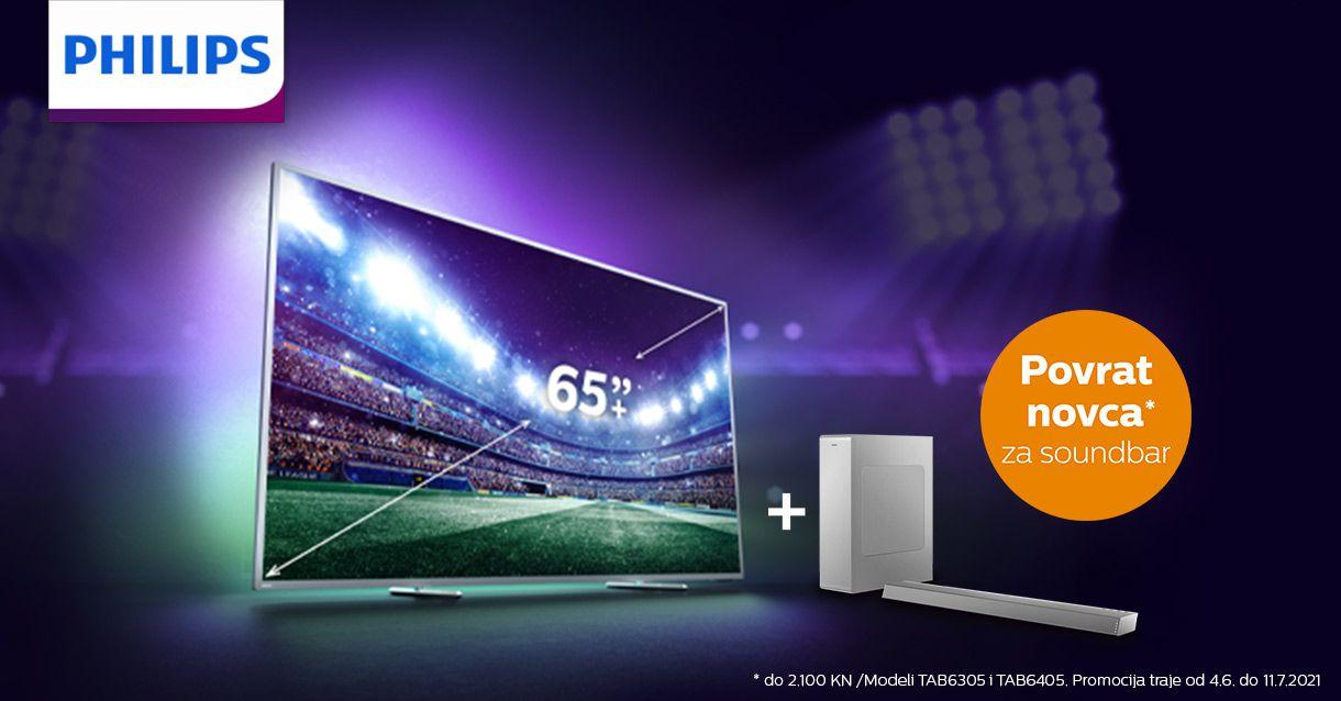 Veliki televizor za velike utakmice