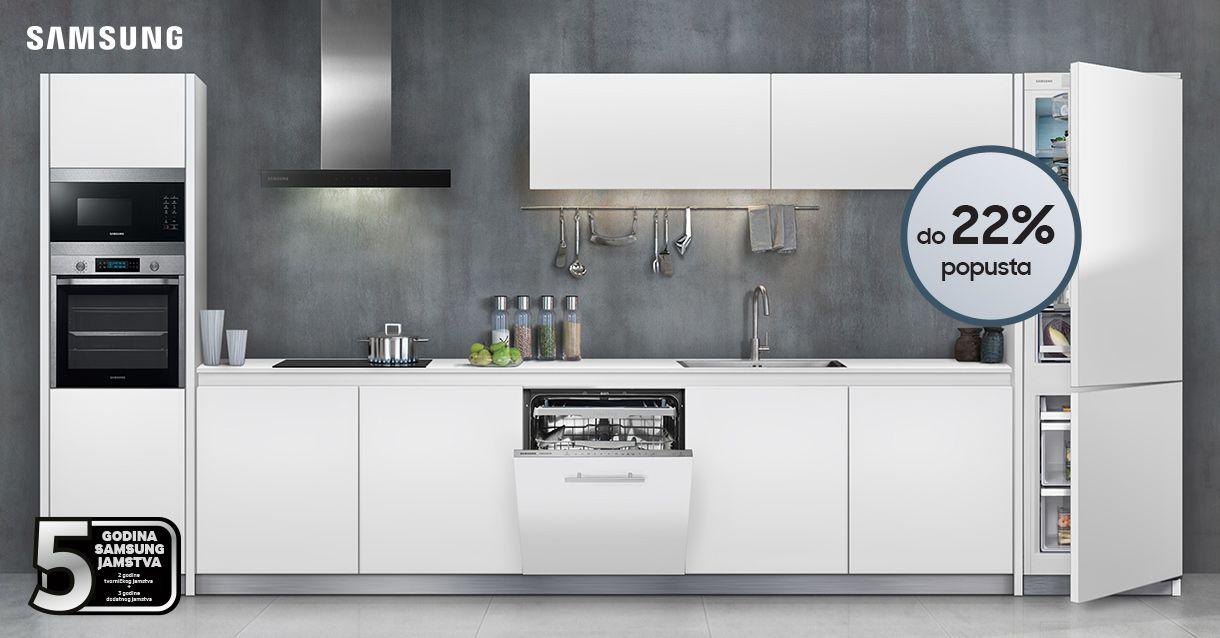 Samsung ugradbeni kuhinjski uređaji na akciji!