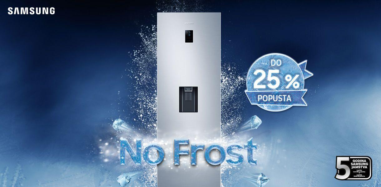Snažno hlađenje bez nakupljanja leda