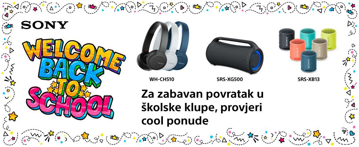Sony slušalice i zvučnici na akciji!